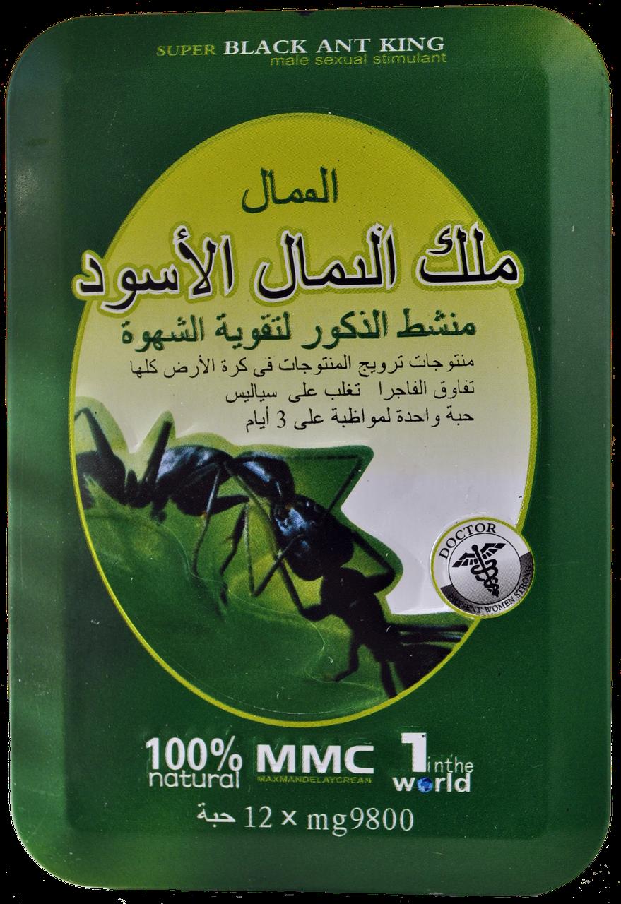 Препарат Black Ant Черный Муравей сильная потенция без побочных эффектов
