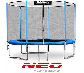 Батут NeoSport 183 см с сеткой и лесенкой, фото 2