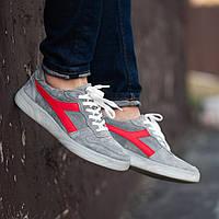Мужские кроссовки South Casual gray. Натуральная замша, фото 1