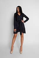 Женское нарядное платье, чёрное, молодёжное, праздничное, элегантное, вечернее