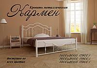 Кровать двухспальная Кармен из металла, фото 1