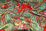 Золушка 1298-3, павлопосадский платок шерстяной  с оверлоком   Стандартный сорт, фото 4