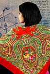 Золушка 1298-3, павлопосадский платок шерстяной  с оверлоком   Стандартный сорт, фото 5