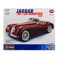 Авто-конструктор Jaguar XK 120 Roadster (1948) 18-25061 ТМ: Bburago