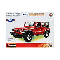Авто-конструктор Jeep Wrangler Unlimited Rubicon 18-45121 ТМ: Bburago