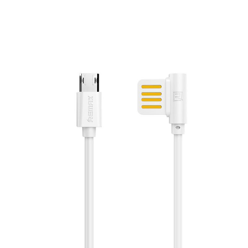 USB кабель Remax Rayen RC-075m MicroUSB White 1m