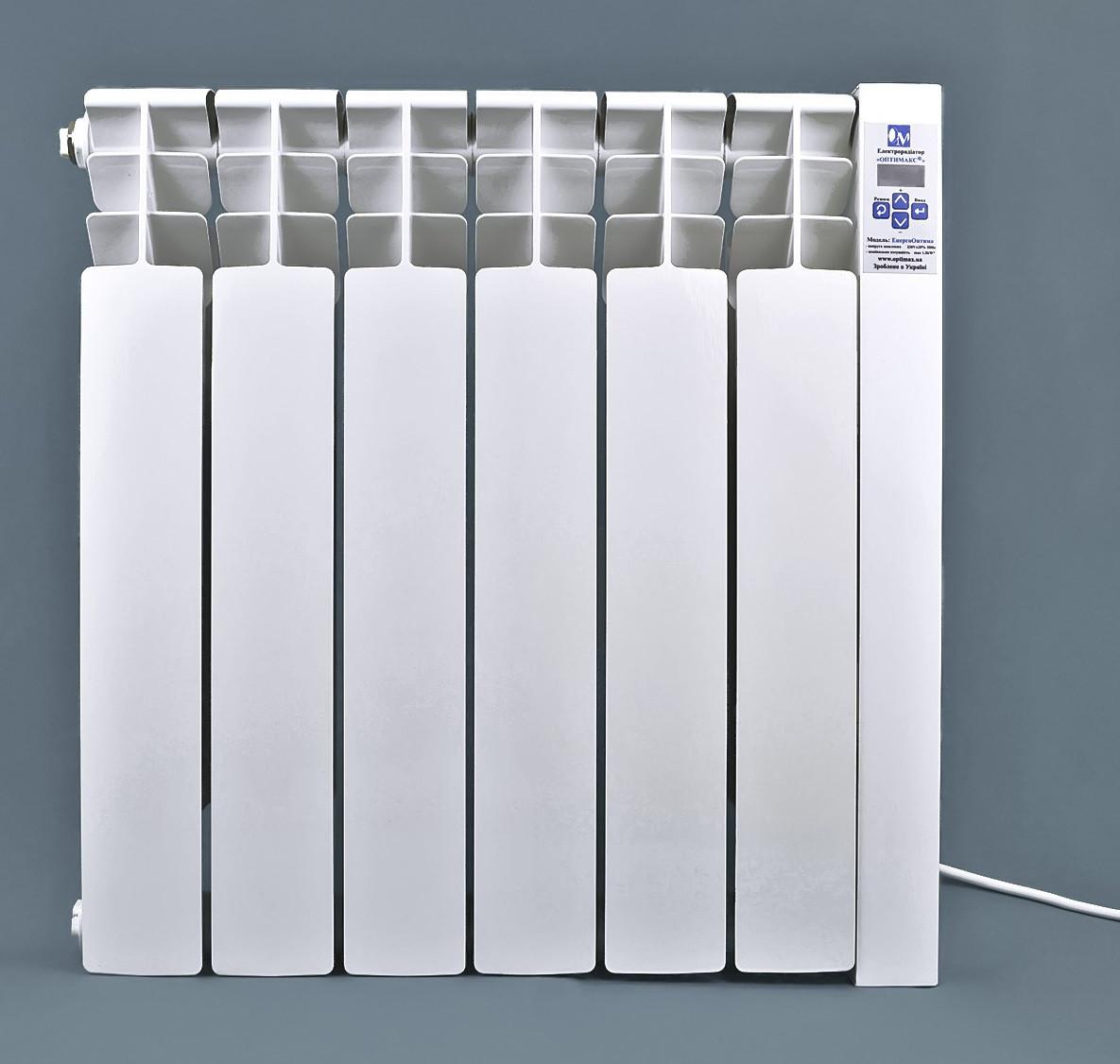 Электрический радиатор ОптиМакс STANDARD на 6 секций 720 Вт