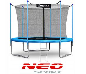 Батут NeoSport 183 см. с внутренней сеткой и лесенкой, фото 2