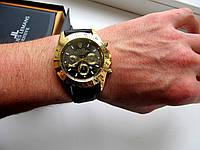 Мужские кварцевые часы Rolex Daytona черное золото