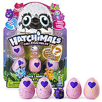 Набор игрушек Hatchimals Colleggtibles 4 фигурки + бонус 2 сезон , фото 1