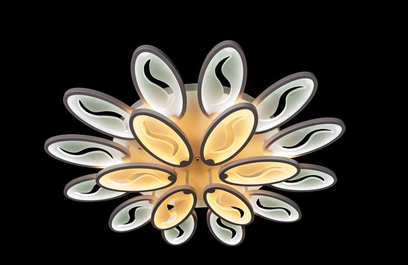 Светодиодный светильник накладной.1673S/12+6WH