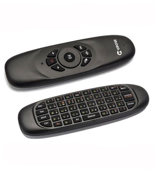 Пульт C120, беспроводная мышь Air Mouse Keyboard с русской клавиатурой, Аэропульт(Планш_C120)