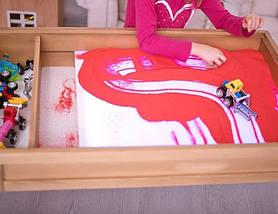Пісок Кварцовий Преміум якості для малювання (колір натуральний) 1 кг, фото 3