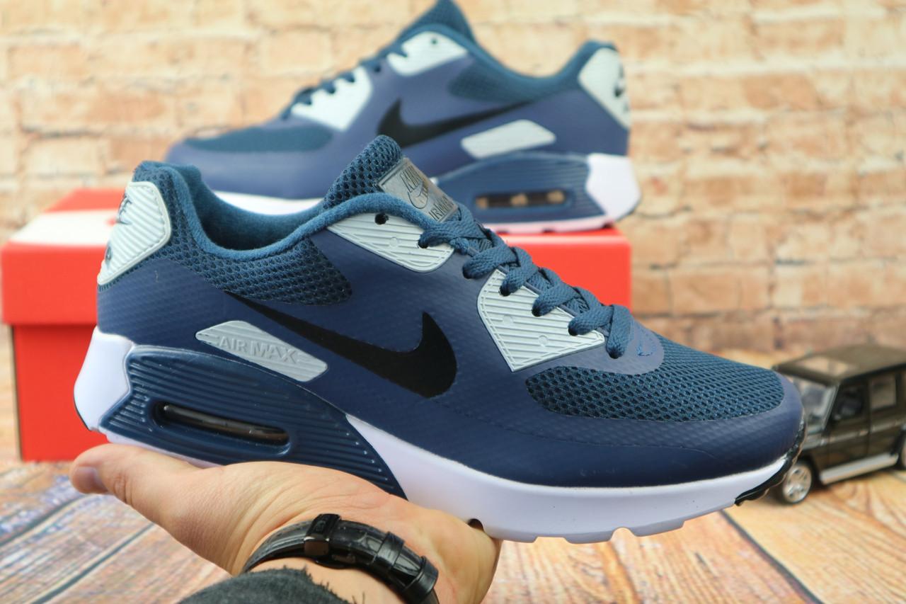 Кроссовки Classik А962-10 (Nike Brand) (весна/осень, мужские, текстиль, голубой)