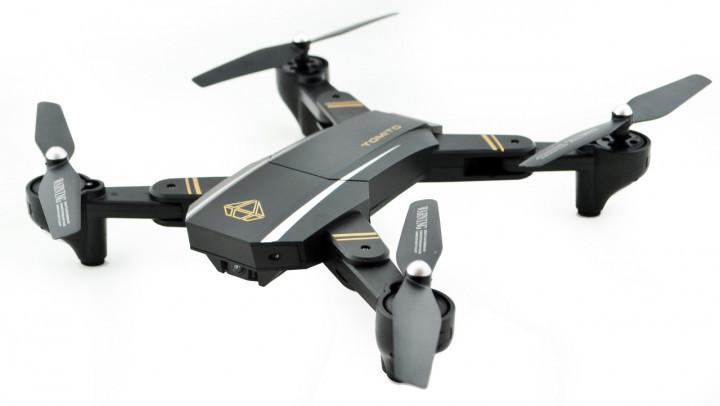 Квадрокоптер Phantom  D5HW c WiFi камерой, летающий дрон + складывающийся корпус