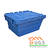Пластиковый контейнер с крышкой 300x400x200 мм