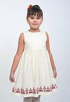 Платье с вышивкой для девочки «Волынская коллекция», фото 1