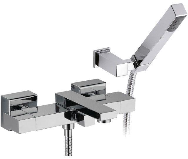 Смеситель для ванной квадратный DANIEL W4302