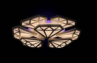 Светодиодная люстра с пультом1801/6+3 Led, фото 2