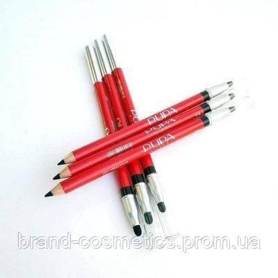 Набор карандашей с растушевкой Pupa Black 12 шт