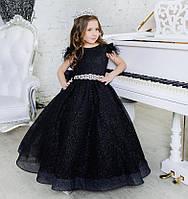 """Пышное бальное платье с блестками  для девочки """"Валери"""", фото 1"""