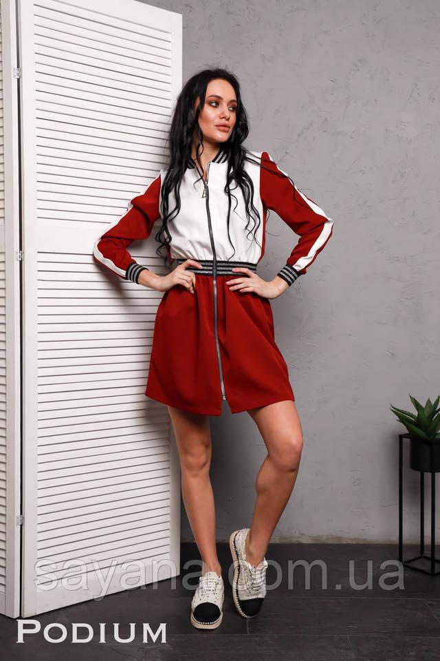 модное платье мини