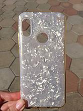 Чохол для Xiaomi Redmi 6 Pro/Mi A2 Lite Gold Broken Glass