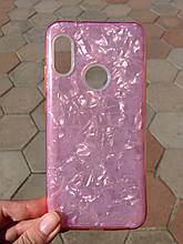 Чохол для Xiaomi Redmi 6 Pro/Mi A2 Lite. Pink Broken Glass