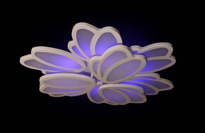 Светодиодная люстра с пультом. 1805/6+3 Led dimmer, фото 2
