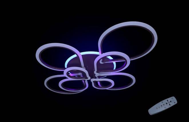 Светодиодная припотолочная люстра на три режима света. 1835/8 CF LED, фото 2