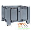 Пластиковый крупногабаритный контейнер на 4-х ножках 1000x700x650мм