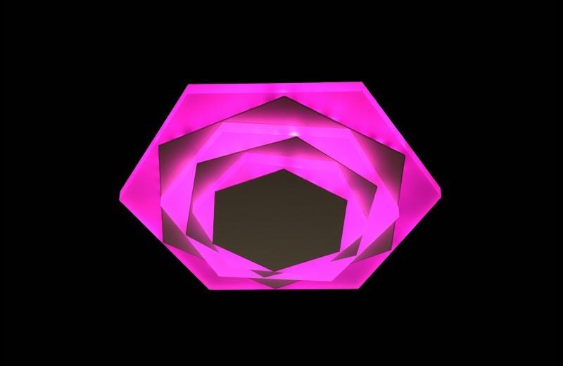 Светодиодный светильник накладной. 2165 PK