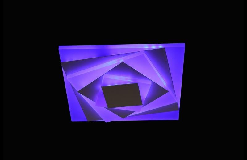 Светодиодный светильник накладной. 2166 BL