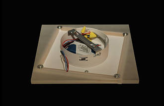 Светодиодный светильник накладной. 2166 BL, фото 2