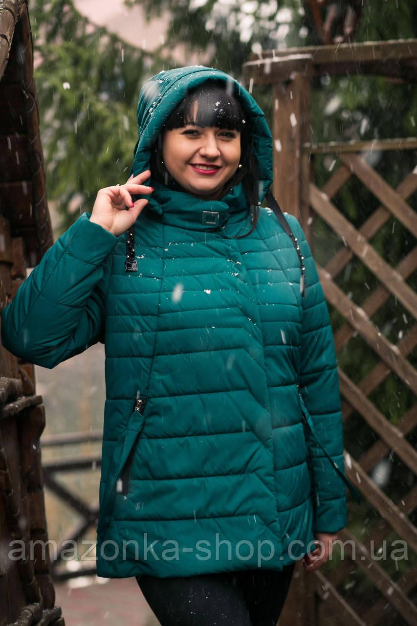 Женская ветровка батальных размеров от AMAZONKA - весна 2019 - (кт-244)