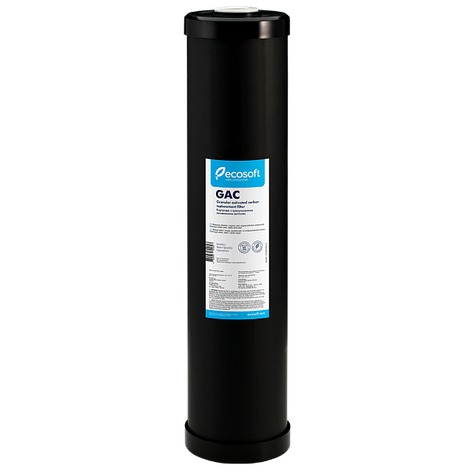"""Картридж с гранулированным активированным углем Ecosoft 4,5""""х20"""", фото 2"""