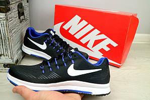 Кроссовки 5072 -3 (Nike Zoom) (весна/осень, мужские, текстиль, черный)