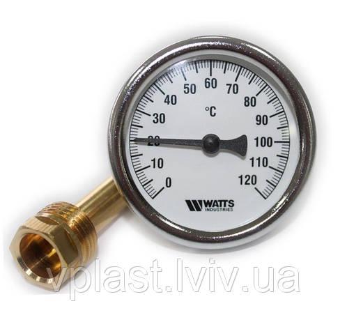 Термометр біметалічний Watts TB-63/50 (0-120 °C), фото 2
