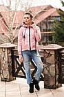 Стильная женская ветровка с капюшоном - модель 2019 - (кт-477), фото 3