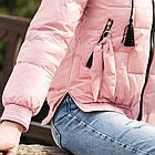 Стильная женская ветровка с капюшоном - модель 2019 - (кт-477), фото 4