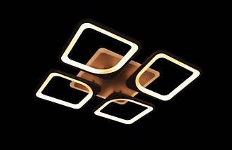 Люстра светодиодная с диммируеммым пультом. Площадь освещения 10-15 кв.м5543-4 CF Dimmer, фото 2