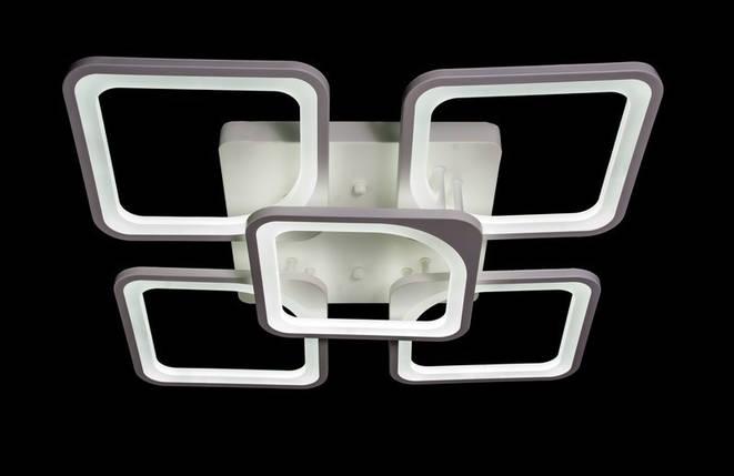 Светодиодная припотолочная люстра с диммером. Площадь освещения 15-20 кв.м5543/4+1 WH Dimmer, фото 2