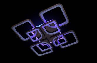 Светодиодная припотолочная люстра с диммером. Площадь освещения 15-20 кв.м5543/4+4 CF LED, фото 3