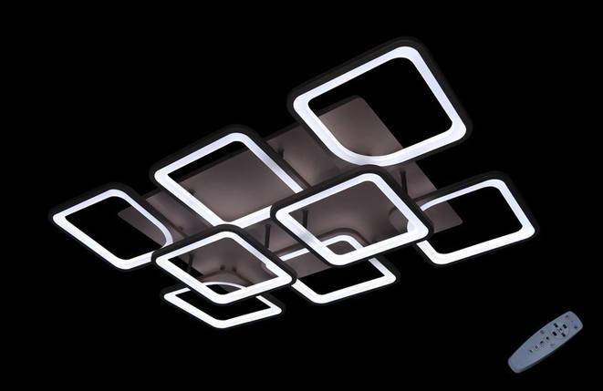 Светодиодная припотолочная люстра с диммером. Площадь освещения 18-25 кв.м5543/6+2 CF Dimmer, фото 2