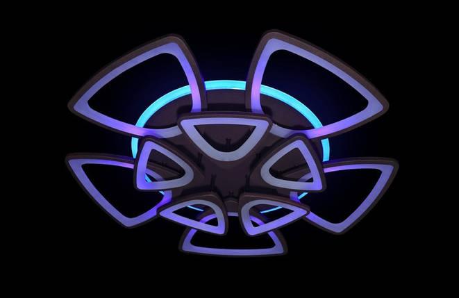 Светодиодная припотолочная люстра с диммером. Площадь освещения 18-25 кв.м5548/5+5 CF LED, фото 2