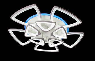 Светодиодная припотолочная люстра с диммером. Площадь освещения 18-25 кв.м5548/5+5 LED, фото 3