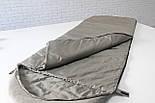 Туристический спальник, спальный мешок летний (+1/+14) для похода, для теплой погоды!, фото 7