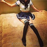 Женское Эротическое белье Костюм школьницы