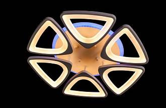 Светодиодная припотолочная люстра с подсветкой. Площадь освещения 15 кв.м5548/6 LED dimmer, фото 3