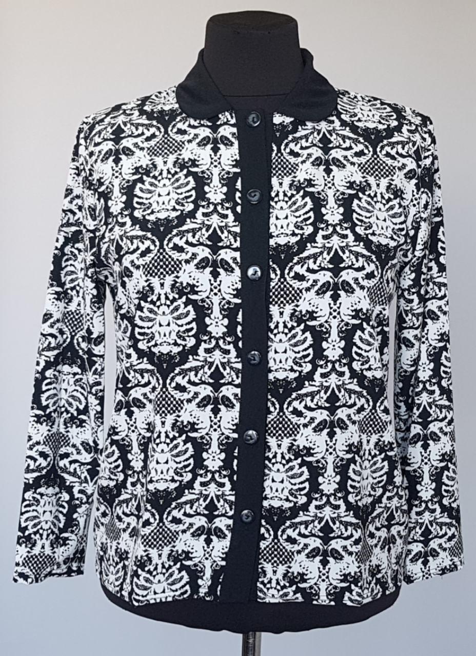 Блузка жакет на пуговицах из тонкой ткани